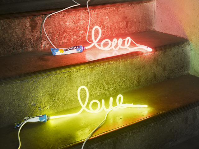 , 'LOVE,' 2018, Galerie Philippe David