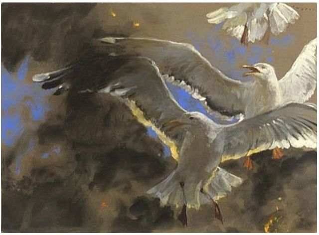 , 'Gulls of the Inferno,' 2007, Somerville Manning Gallery