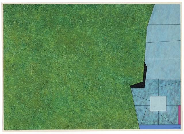 Gunther Gerzso, 'Verde-azul-blanco-rojo', 1978-79, Christie's
