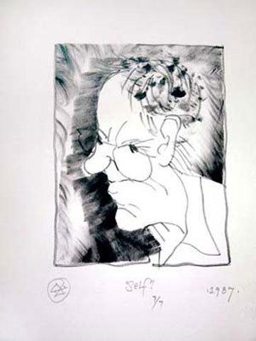 , 'Self (portrait),' 1987, International Sculpture Center