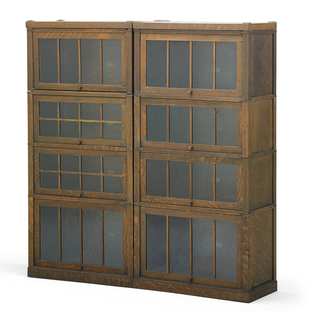 Macey, 'Six Stacking Barrister Bookcases, Grand Rapids, MI', ca. 1910, Rago/Wright