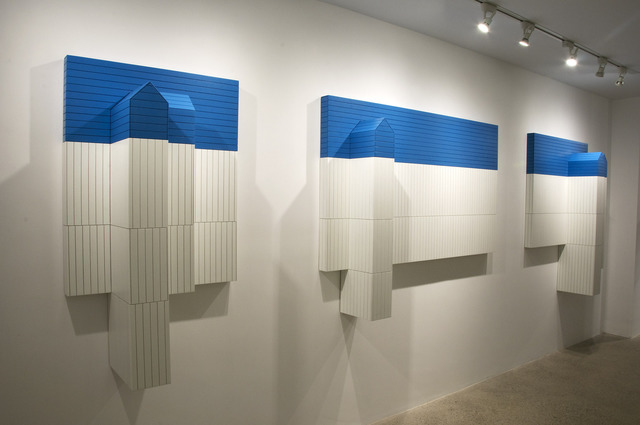 , 'Neighbors (triptych),' 2010, Cade Tompkins Projects