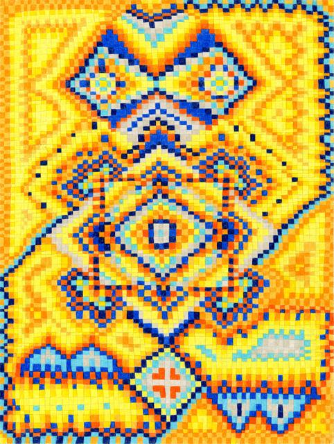 , 'Grid Drawing August 6, 2015,' 2015, Asya Geisberg Gallery