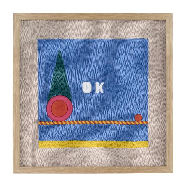 , 'OK (Lying in a Sunny Place),' 2018, Rebecca Hossack Art Gallery