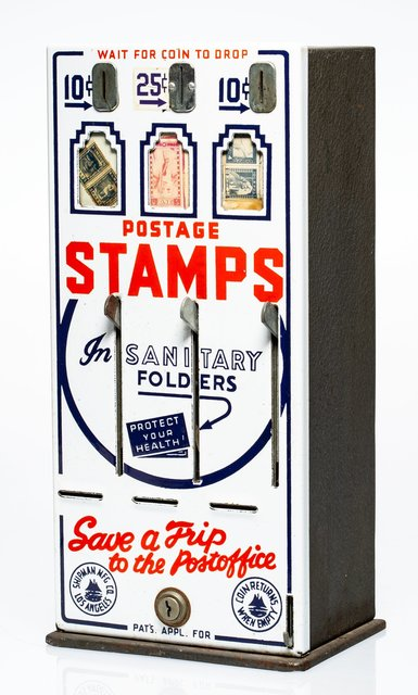 Robert Watts, 'Stamp Machine and Stamps, from The American Supermarket', 1962, Heritage Auctions