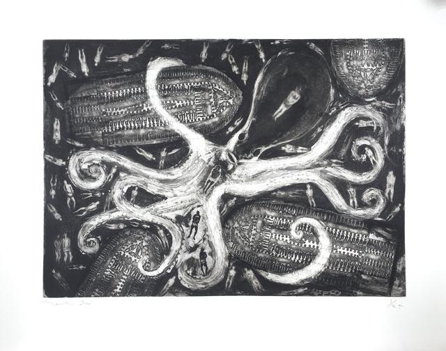 , 'Pulpo con barcos y esclavos (Octopus with Boats and Slaves),' 2018, Latin American Masters