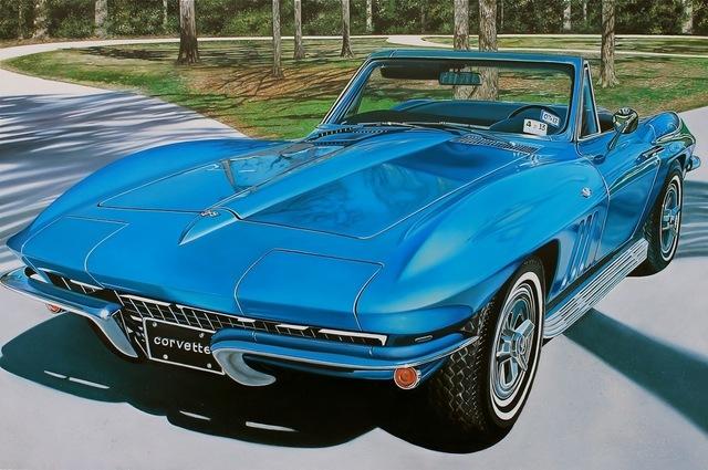 , 'Blue Corvette,' 2013, Tangent Contemporary Art
