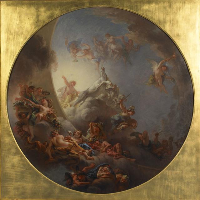 , 'Le lever du soleil (The Sunrise),' 1678, Château de Versailles