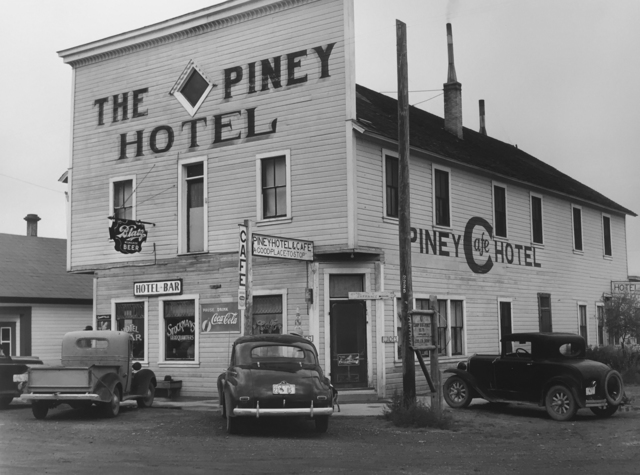 , 'Hotel in Big Piney, Wyoming,' 1941, G. Gibson Gallery