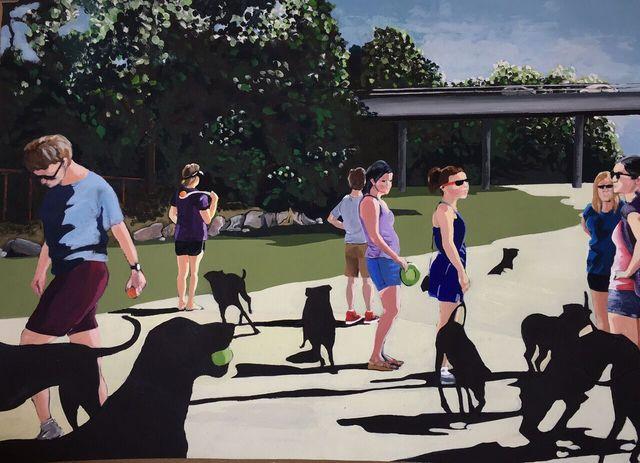 , 'Dog Park,' 2016, Ro2 Art