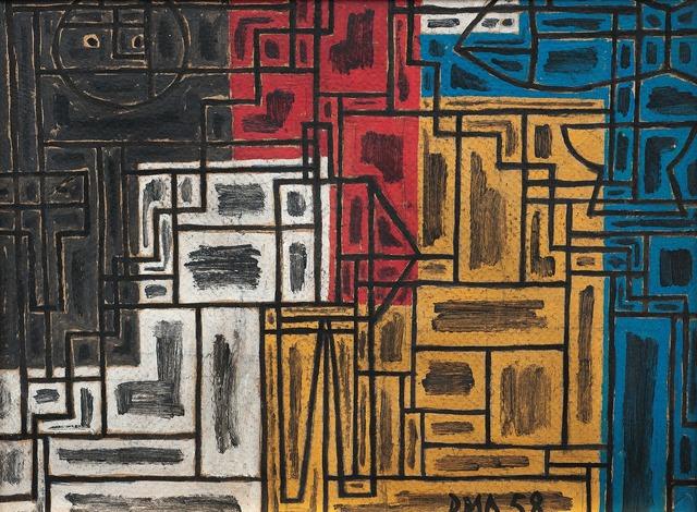 , 'Constructivo en colores primarios,' 1958, Galería de las Misiones