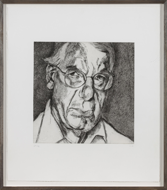Lucian Freud, 'The New Yorker', 2006, Print, Etching, Marlborough London