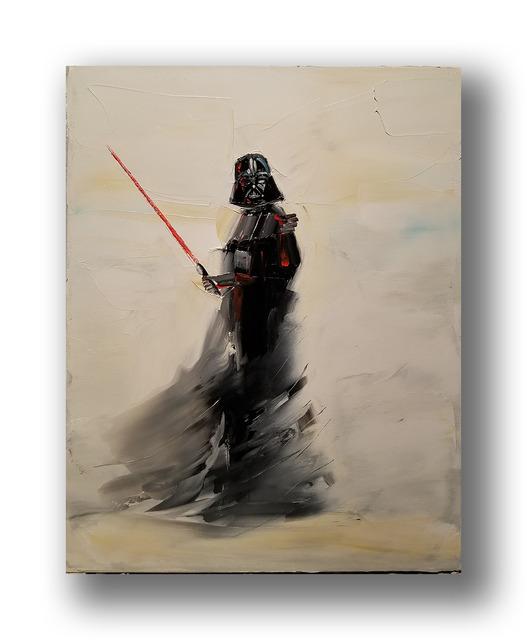 Chuck Joseph, 'Darth Vader', 2020, Painting, Oil on Canvas, Animazing Gallery