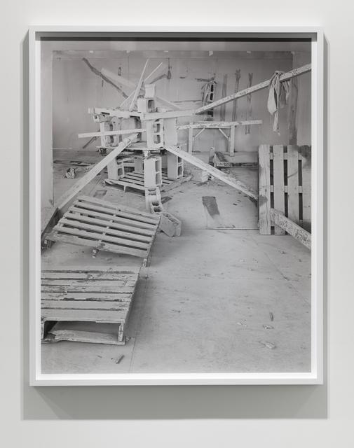 , 'Barricade No. 4,' 2017, Klowden Mann