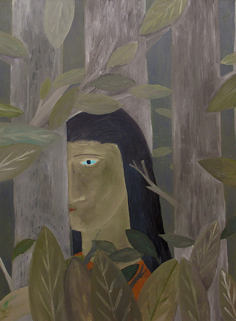 , 'Woman In The Woods,' 2018, Galerie Bart