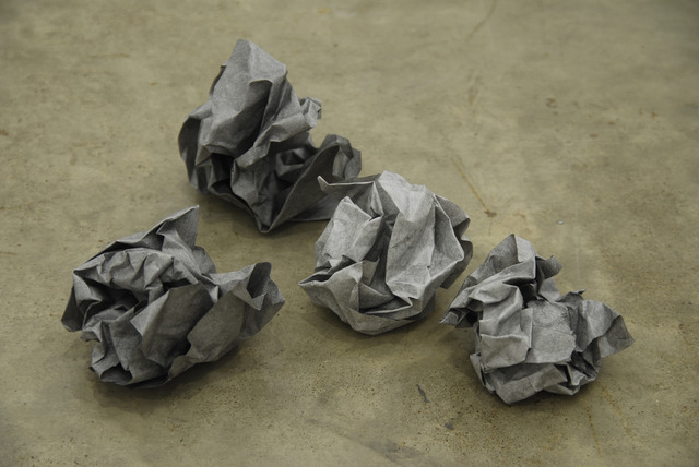 Susan Collis, 'On second thoughts', 2011, Sculpture, Graphite on paper, Lora Reynolds Gallery