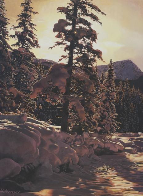 , 'Winterspaziergang,' 2013, GALERIE URS REICHLIN