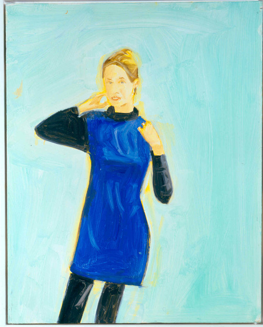 , 'Oona in Blue,' 2008, Javier Lopez & Fer Frances