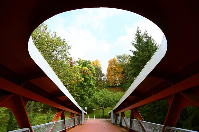 , 'Esch-sur-Alzette Footbridge, Grand Duchy of Luxembourg,' 2013, Laurence Miller Gallery