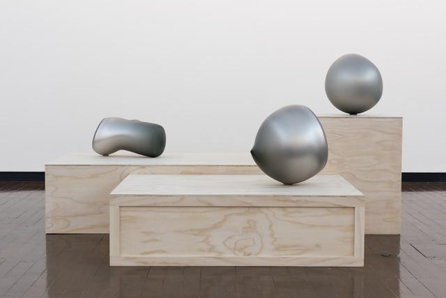 , 'SILVER SCAPE,' 2014, Heller Gallery