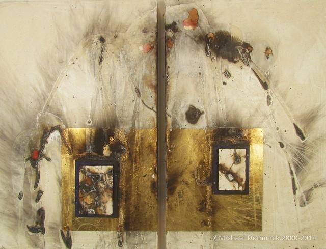 , 'The Last Binghamton Diptych,' 2010, Anita Shapolsky Gallery