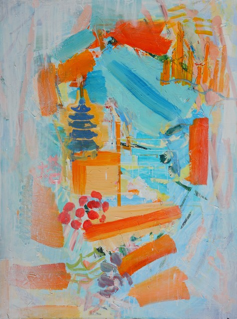 , 'Chinese Pagoda,' 2015, Aye Gallery