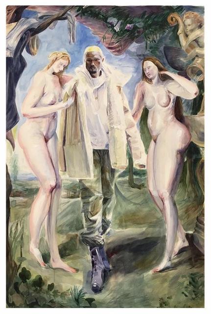, 'Kanye,' 2017, Richard Heller Gallery
