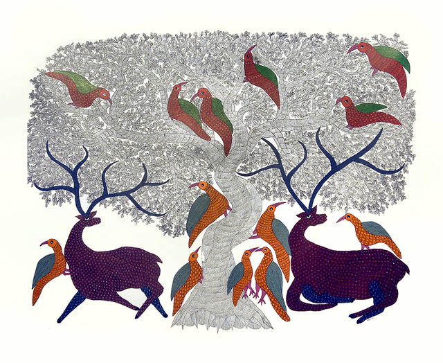 , 'Gond Art - Tribal & Traditional Indian Art,' 2013, ICAC