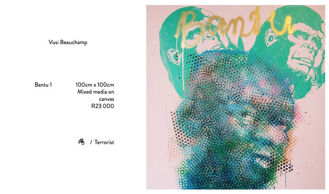 , 'Bantu 1,' 2016, Kalashnikovv Gallery