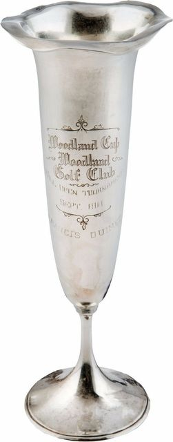 Francis DeSales Ouimet, '1911 Francis Ouimet Golf Trophy Memorabilia', 1911, Sculpture, Steel, Modern Artifact