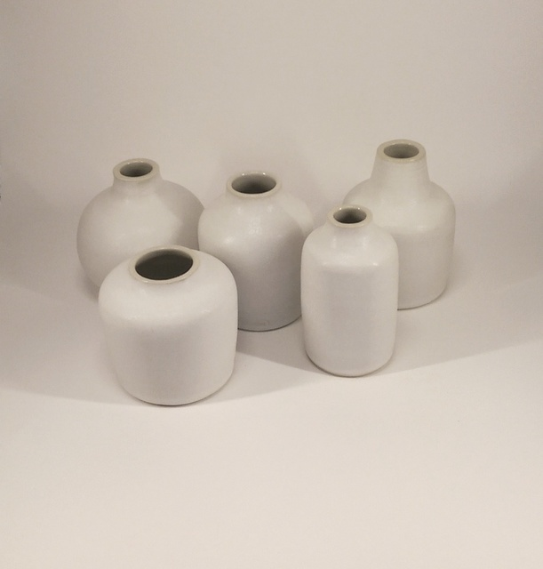 , 'FIVE POTS, white inside,' 2, Sladmore Contemporary
