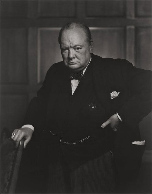 , 'Winston Churchill,' 1941, Beetles + Huxley