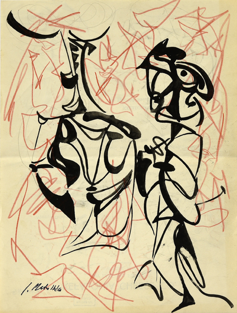 Jan Matulka, 'Untitled Study', 1940-1950, McCormick Gallery