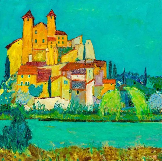, 'Canal Du Midi, Argens,' 2018, Lime Tree Gallery