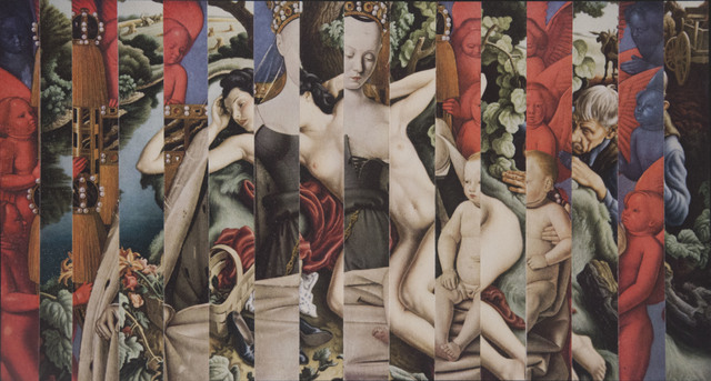 , 'Blasphemy (Fouquet / Benton),' 2014, Carter Burden Gallery