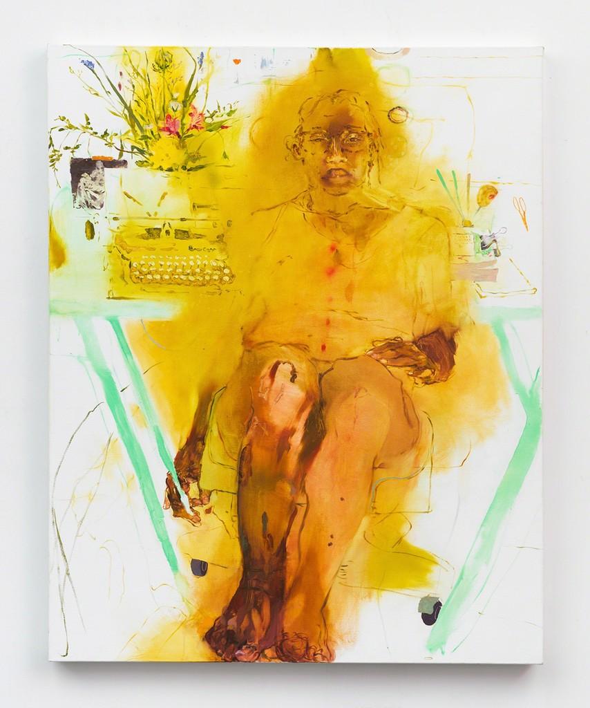 JENNIFER PACKER, APRIL, RESTLESS, 2017. COURTESY OF THE ARTIST AND CORVI-MORA, LONDON.