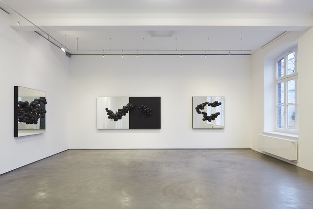 Birgitta Weimer, 'Hyperobject Studies (Bardo)', 2018, Sculpture, Plastic coated on mirror, Galerie Judith Andreae