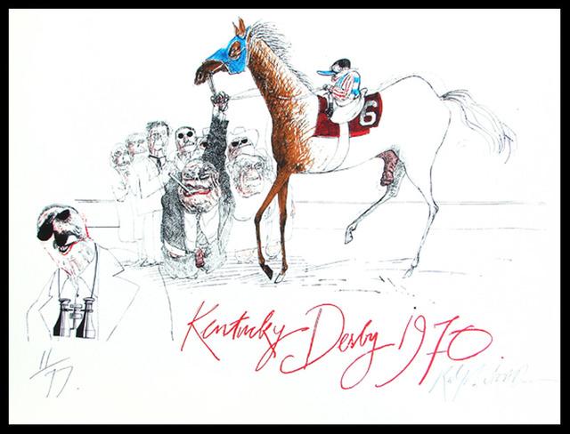 Ralph Steadman, 'Kentucky Derby ', 1970, Gonzo Gallery