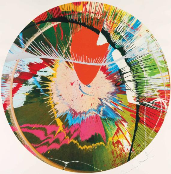 Damien Hirst, 'Beautiful, Galactic, Exploding Screenprint (Spin)', 2001, The Drang Gallery