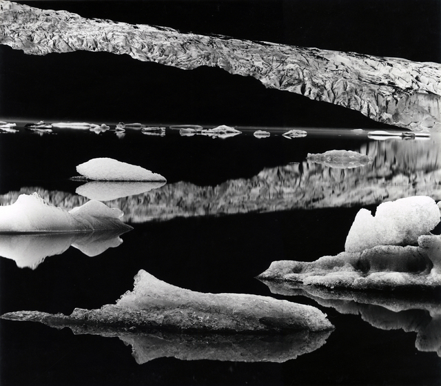 , 'Mendenhall Glacier,' 1973, Photography West Gallery