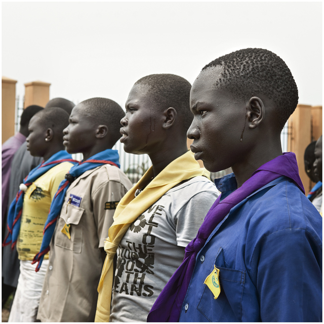 , 'Becoming South Sudan Chapter I (Portraits): Four,' 2011, The Ravestijn Gallery