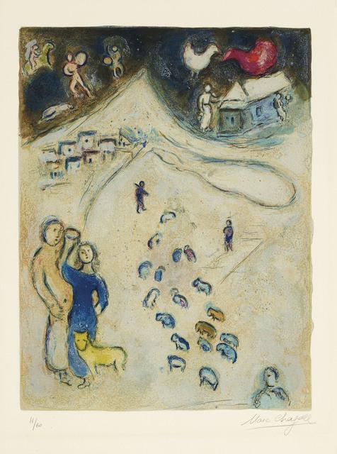 Marc Chagall, 'L'Hiver, from Daphnis et Chloé', 1961, Christie's