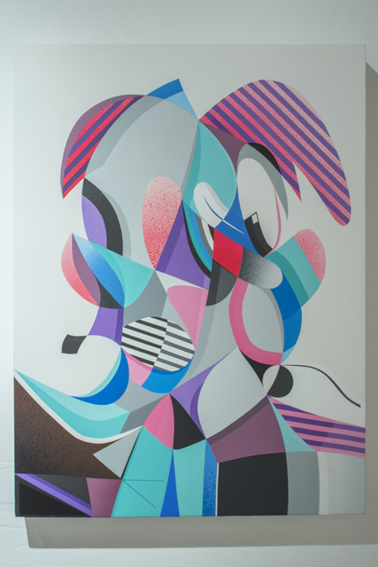 , 'Double Vision #2,' 2015, Pablo Cardoza Gallery