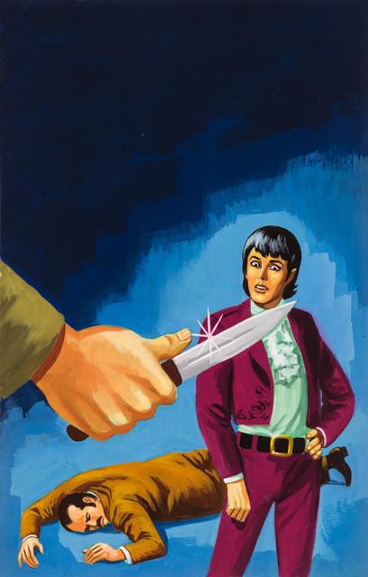 'Untitled (Two men encountering man with dagger)', c. 1960-75, Ricco/Maresca Gallery