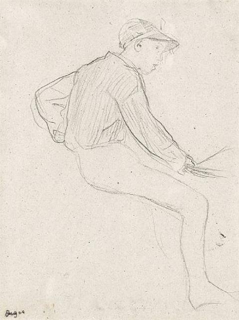 , 'Etude de Jockey ,' 1885, Browse & Darby