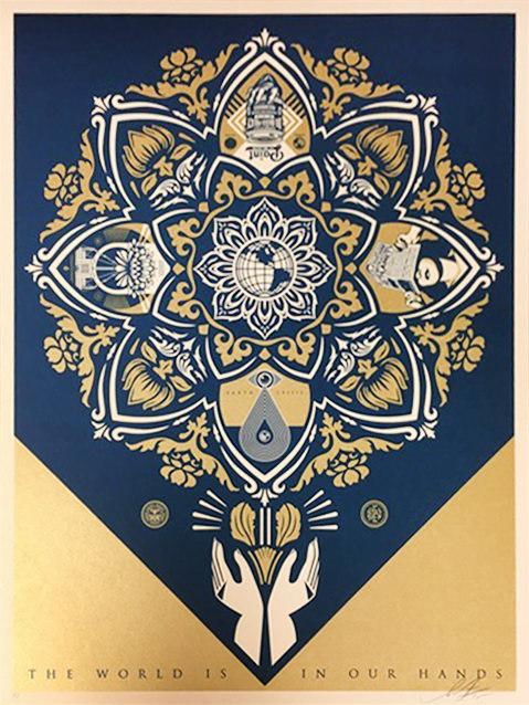 Shepard Fairey (OBEY), 'Holiday Print 2015', 2015, Rudolf Budja Gallery