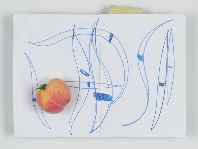 , 'Sketch Book with Peach,' 2018, Tatjana Pieters