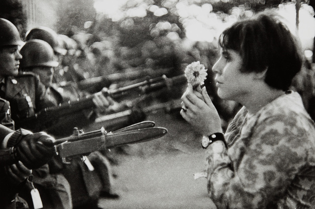 Marc Riboud, 'Young girl holding a flower, Washington', 1967, Phillips