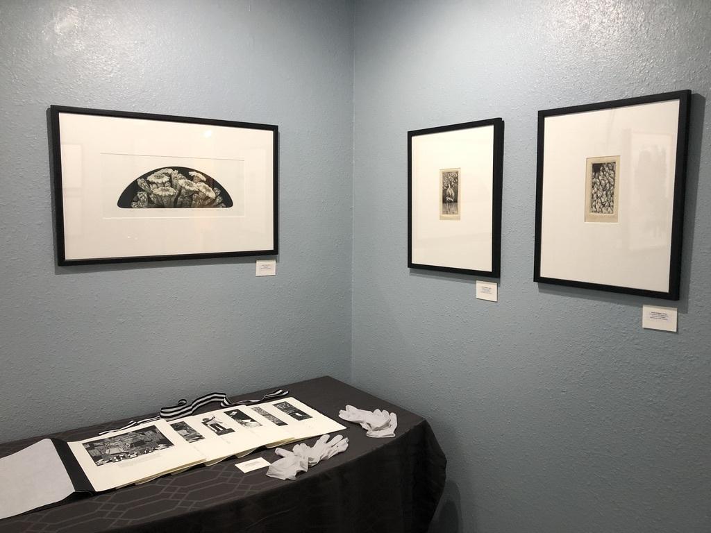 Blue gallery northwest corner