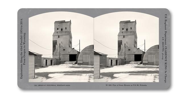 , 'Stereograph 190 (Nebraska) from American Industrial Heritage Series,' 2015, Robert Klein Gallery